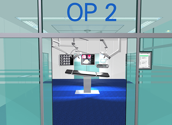 Medical Design - Op-Visionen - Ortec - Beger Design - Visualisierung - Animation - Usability