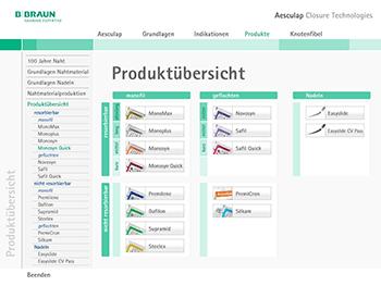 Interactive Design - Animation - MMI Mensch - Machine - Interface - Beger Design - Aspekte Naht