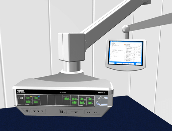 Medical Design - Animation - MMI Mensch-Machine-Interface - Usability - Op-Server - Karl Storz Endoskope - Beger Design