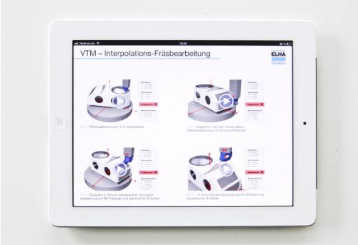 Interactive Design - Visualisierung - Animation - Usability - Gebrauchstauglichkeit - iBook - VTM - Elha Maschinenbau - Beger Design