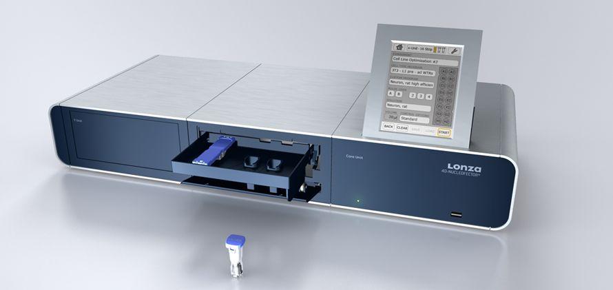 Produkt Design - User Interface - Animation - MMI - Mensch - Machine - Interface - Usability - 4D-Nucleofector - Beger Design - Lonza Cologne